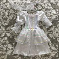 Vestido de Noivinha Caipira Luxo - 6 anos - Só pra Menina
