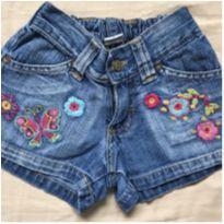 Shorts Jeans - Fuzarka - 4 anos - Fuzarka