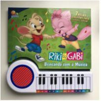 Livro Riki & Gabi - Brincando com a música -  - Todo Livro