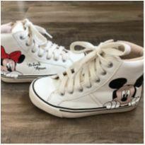 Tênis Cano Alto Disney - Zara