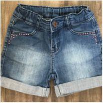 Shorts Jeans - Hering kids - 6 anos - Hering Kids