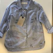 Camisa Zara - 5 anos - Zara
