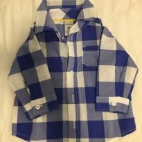 Linda Camisa Quadriculada - 3 a 6 meses - Carter`s