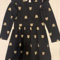 Vestido Tigres - 5 anos - Fuzarka