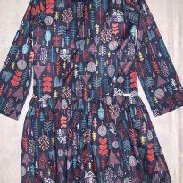 Vestido Árvores - 5 anos - Mon Sucré