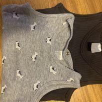 Body H&M regata - 12 a 18 meses - H&M