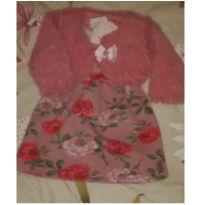 Vestido com bolero Playground - 9 a 12 meses - playground