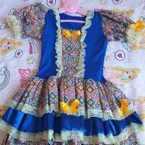 Vestido festa junina - 7 anos - Outras