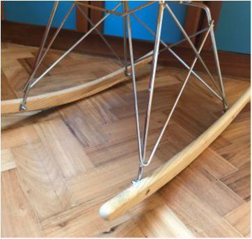Cadeira Balanço Eiffel - Sem faixa etaria - Abracadabra
