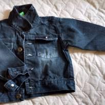 Jaqueta jeans preto - 1 ano - Pool Kids