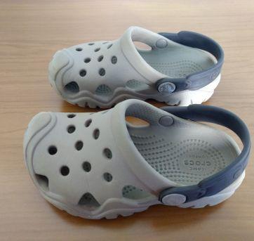 Crocs Kids` Swiftwater Clog - 24 - Crocs