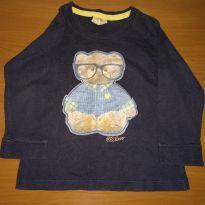 Camiseta manga longa - 1 ano - Milon