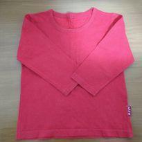 Camiseta vermelha manga longa - 18 meses - Kyly