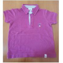 Camiseta Polo cor uva - 2 anos - Golfe Kids