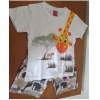 Conjunto girafinha - 3 anos - Kyly