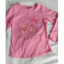 Blusa Hello Kitty - 3 anos - Hello  Kitty