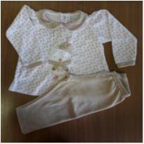 Conjunto de inverno em plush Tilly Baby - 9 a 12 meses - Tilly Baby