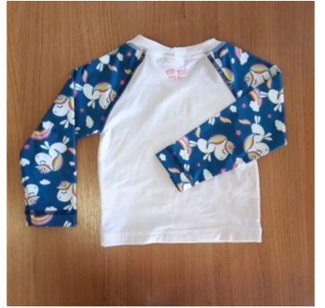 Camiseta com proteção solar UV Fps 50 infantil - Puket - 6 a 9 meses - Puket