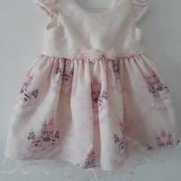 Vestido Princesa - 3 a 6 meses - Kidstok