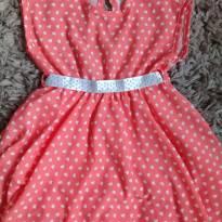 Vestido Arte Menor Corações 2T - 2 anos - Arte Menor