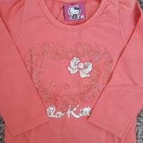 Blusa Hello Kitty Manga Longa 1T - 1 ano - Hello Kitty by Sanrio