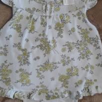 Vestido Milon Florido M - 3 a 6 meses - Milon