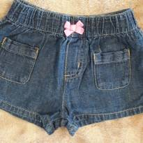 Short Carters Jeans 12M - 1 ano - Carter`s