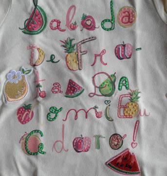 Conjunto Momi Salada de Frutas 3T - 3 anos - Momi