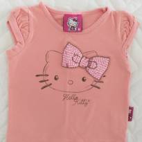 Blusinha Hello Kitty Rosa 1T - 1 ano - Hello  Kitty
