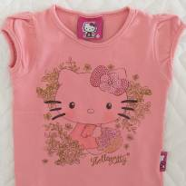 Blusinha Hello Kitty Rosa 1T - 1 ano - Hello Kitty by Sanrio