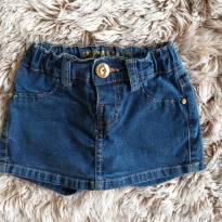 Shorts Jeans Pura Mania 2T - 2 anos - Puramania