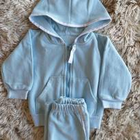 Conjunto Be Little Plush Azul 6M - 3 a 6 meses - Be Little
