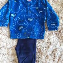 Conjunto Tip Top Plush Azul P - 0 a 3 meses - Tip Top