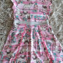 Vestido Momi Pug 4T - 4 anos - Momi
