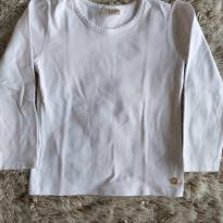 Blusa Milon Branca Básica 4T - 4 anos - Milon