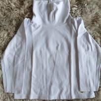Blusa Milon Branca Básica com Gola 3T - 3 anos - Milon