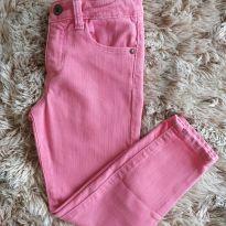 Calça Zara Jeans Rosa 5T - 5 anos - Zara