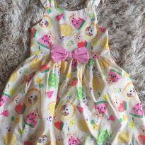 Vestido Mon Sucré Cachorrinhos 4T - 4 anos - Mon Sucré