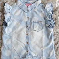 Blusa Momi Jeans 3T - 3 anos - Momi
