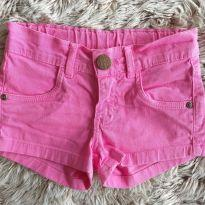Shorts Malwee Jeans Rosa 4T - 4 anos - Malwee