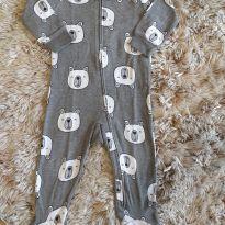 Macacão Carters Ursinho Cinza 9M - 9 meses - Carter`s
