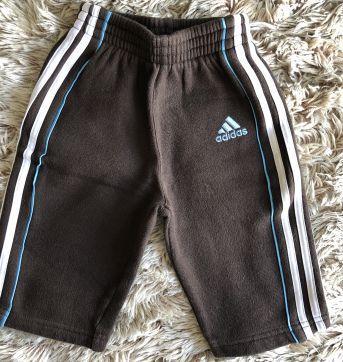 Agasalho Adidas Moletom Marrom 9M - 9 meses - Adidas