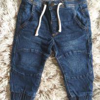 Calça Zara Jeans Estilosa 6-9 meses