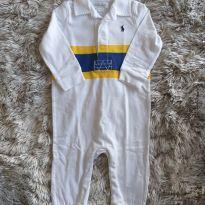 Macacão Ralph Lauren Branco Lindíssimo 6M - 6 meses - Ralph Lauren
