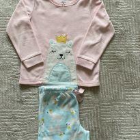 Pijama Carter's Plush Ursinha 5T - 5 anos - Carter`s