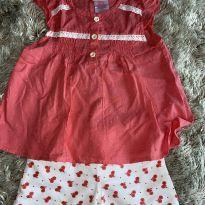 Conjunto Young Hearts Rosa 4T - 4 anos - YOUNG  HEARTS(USA)