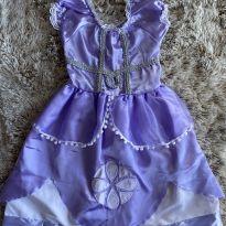 Vestido Princesa Sofia 4T - 4 anos - Artesanal