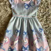 Vestido Momi Unicórnios Maravilhoso 6T - 6 anos - Momi