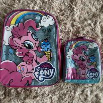 Kit Mochila+Lancheira My Little Pony -  - Hasbro