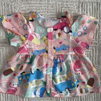 Blusinha Mon Sucré Rosa Linda 4T - 4 anos - Mon Sucré